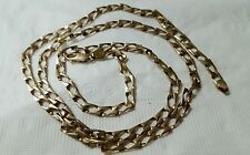 14k yellow solid gold  chain, 5 mm