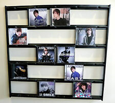CD Mural Wall Display for Beatles, Bieber, One Direction, Adele, Genesis
