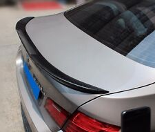 For BMW 5 Series F10 M4 Style Carbon Rear Spoiler Universal Trunk Racing Wing