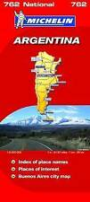 Argentina 2010 NATIONAL map 762 (Michelin National Maps), Michelin, Very Good, M