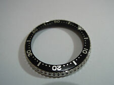 NEW SEIKO ROTATING BEZEL WITH BLACK INSERT FOR SEIKO DIVER'S 6309 /6306 /7002