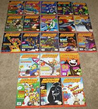 Lot of 21 Issues of Nintendo Power Magazine, Magazines, 1991 & 1992