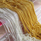 5M Beads Line Chain For Acrylic Nail Art 3D False Tips DIY Decoration New BK