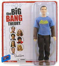 "The Big Bang Theory Sheldon Cooper Figure Batman Shirt 8"" Bif Bang Pow! 2013"