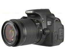 Canon EOS 700D DSLR Camera Body with EF-S 18-55mm Lens Kit - Multi Language