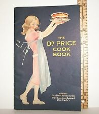 VINTAGE DR PRICE PHOSPHATE BAKING POWDER PAPER RECIPE COOKBOOK BOOKLET 1929