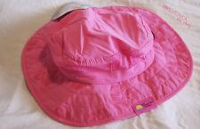 Kids Safari Hat Pink Hibiscus Girls Sun Protective Zone UPF 50+ Child Block UV