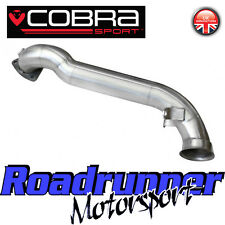 Cobra Sport Mini Cooper S R56 2006 De-Cat Downpipe Exhaust Removes Cat - ByPass