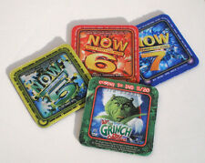 NOW THAT'S WHAT I CALL MUSIC 5 6 7 + GRINCH DVD COASTER / MINI-MOUSE PAD SET NEW