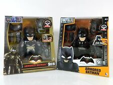 "Jada Metals DC 6"" Action Figures Batman w/ Light Up Eyes 2 Sets Collection"