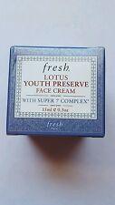 Fresh Lotus Youth Preserve Face Cream Super 7 Complex 0.5oz New Boxed