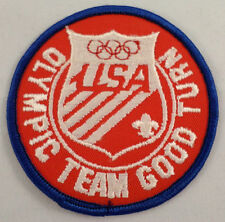 Uniform Patch Boy Scout Bsa Olympic Team Good Turn Usa #Bsbl