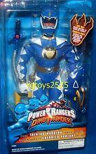 """Power Rangers Dino Thunder Blue 12"""" Ranger Talking Warrior New Factory Sealed"""