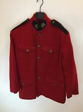 Polo Country Vintage Pre-RRL Military Civil War Red Wool Jacket Size Medium