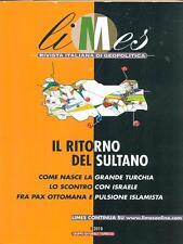 LIMES N. 4/2010  IL RITORNO DEL SULTANO RIVISTE AA.VV