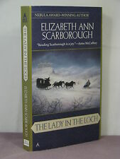 1st PB,signed by author,The Lady in the Loch by Elizabeth Ann Scarborough (1999)