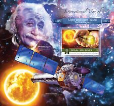 Maldives 2015 Int Year of Light Technology Scientists Einstein Bulb S/S 151104b