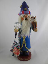 Merlin the Magician German Smoker Nutcracker Steinbach Limited Edition