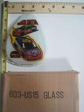 FREE US SHIP ok touch lamp replacement glass panel NASCAR Jeff Gordon 603-US15