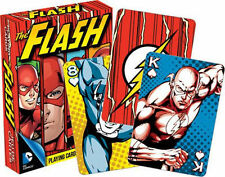 THE FLASH - PLAYING CARD DECK - 52 CARDS NEW - DC COMICS JUSTICE LEAGUE 52289