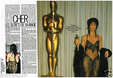 Coupure de presse Clipping 1988 (4 pages) Cher
