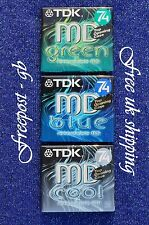 3 x TOP QUALITY TDK MD-C74 BLANK MINIDISCS - 74 MINUTES - NEW IN BOXES