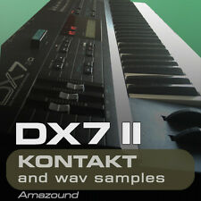 YAMAHA DX7 II for KONTAKT 96 .nki INSTRUMENTS 1040 24bit WAV SAMPLES PC MAC MPC