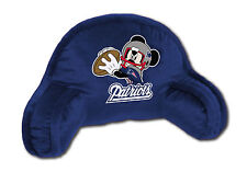 **LOOK** NFL New England Patriots Mickey Mouse Gaming / Bed Rest Pillow (Disney)
