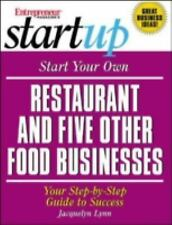 Start Your Own Restaurant (and Five Other Food Businesses) (Entrepreneur...