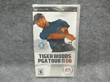Tiger Woods PGA Tour 06 PSP Play Station Portable Video Game NEW SEALED