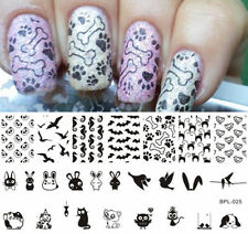 Nagel Schablone BORN PRETTY BP-L025 Nail Art Stamp Stamping Template Plates