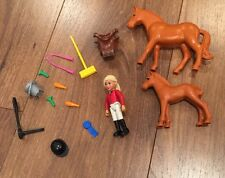 Retired Lego Belville Horses, Girl And Accessories  (7585)--EUC