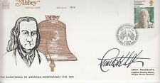 CHARLTON HESTON (1923-2008) / in person autographed HAND SIGNED FIRST DAY COVER