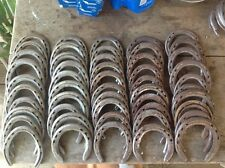 50 Used Steel Horseshoes - Metal Crafting - Welding - Western / Rustic Decor
