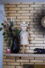 "Decorative Mannequin Dress Bust Form - Boudoir Fashion Shabby Chic - 26"""