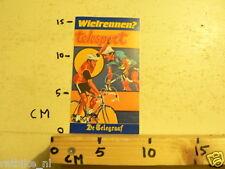 STICKER,DECAL WIELRENNEN TELESPORT DE TELEGRAAF,CYCLING