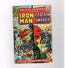 TALES OF SUSPENSE #66 Silver Age Marvel find w/ gorgeous Kirby cover! GRADE 7.0