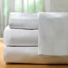 2 BRIGHT WHITE MASSAGE TABLE FLAT COVER SHEET MUSLIN T130 54X80 MESSUSE