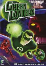 GREEN LANTERN : RISE OF THE RED LANTERNS (13 episodes) - DVD - REGION 2 UK