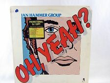 LP Record - JAN HAMMER GROUP Oh, Yeah? NE-437 promo sticker on front