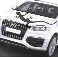 Audi Gecko CARTATTOO Autoaufkleber Aufkleber 110x51cm für Heck Seite und Haube