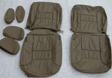 96 97 98 99 Chevy Silverado truck Suburban tahoe leather seat cover set tan