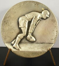 Médaille Sport collectif Rugby football sc Drago c 1950  Medal