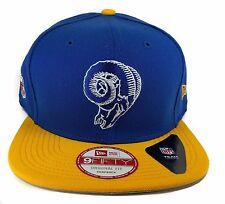 Los Angeles Rams New Era 9Fifty Vintage Throwback 2 Tone Snapback Hat Cap NFL