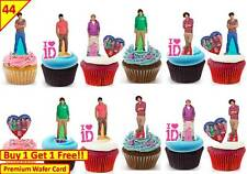 X 88 1D one direction cup cake toppers fairy comestible fête d'anniversaire carte standup