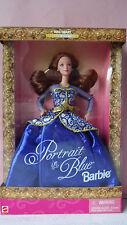 Poupée Doll BARBIE rousse PORTRAIT IN BLUE Edition Spéciale 1997 # 19355