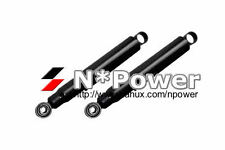 TWIN TUBE GAS SHOCK PAIR REAR TOYOTA LANDCRUISER LJ70 LJ73 RJ70 RJ73 Bundera SWB