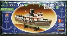 Lindberg Diesel Harbor Tug Boat model kit 1/87