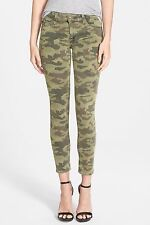 NWT HUDSON Krista Crop in Solimar Camo Super Skinny Ankle Stretch Jeans 27