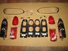 New Pair of Tail Lamp Stop Light Lens Assemblies MGB MG Midget 1962-1969